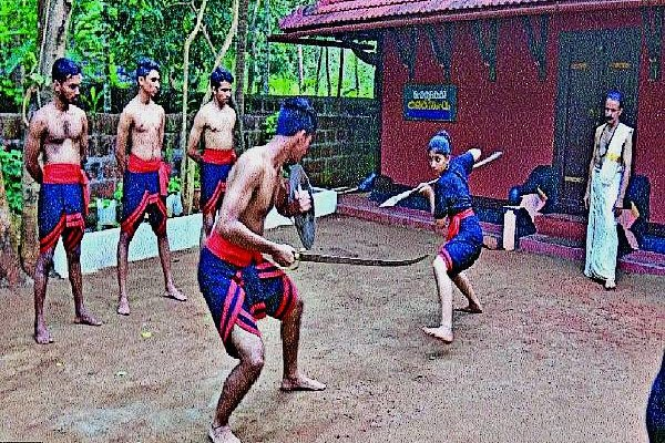 ACTION CHOREOGRAPHY – KALARIPAYATTU
